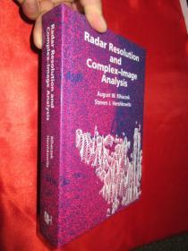 Radar Resolution and Complex-Image Analysis        (硬精装)    【详见图】