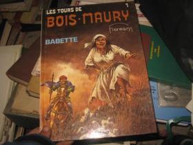 欧洲原版漫画LES TOURS  DE  BOIS,MAURY
