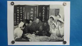 1978年上海第三十三棉纺厂30厘米大幅照片