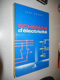 Schémas délectricité  Jean Barry 法文原版精装