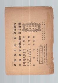中国禁烟法令变迁史(只有一个版权页和封底)