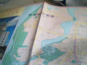 齐齐哈尔地图 齐齐哈尔市经济开发地图1995 2开