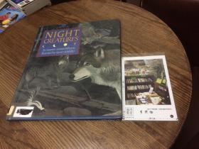 英文原版 night creatures 夜间生物 【存于溪木素年书店】