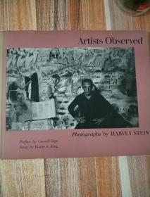 Artists Obsered Photographs by HARVEY STEIN 摄影画册