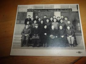 北京医院神经科进修班欢送苏联通讯院士基比雅科夫教授合影--50年代医界影像