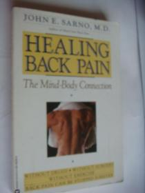 Healing Back Pain:the Mind-Body Connection