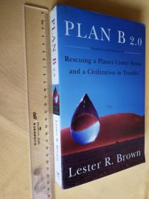 英文原版大开本 Plan B 2.0: Rescuing a Planet Under Stress And a Civilization in Trouble