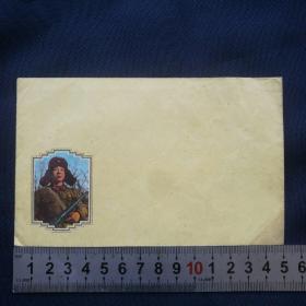 老信封【雷锋】 七八十年代 武汉印   空白信封