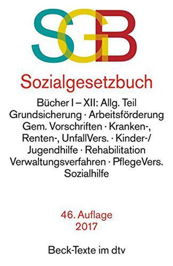 德文原版 德国社会法典 Sozialgesetzbuch 德语 最新2017年第46版