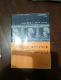 波德里亚:批判性的读本
