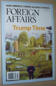 英文原版书 Foreign Affairs Magazine (March/April, 2017) Trump Time