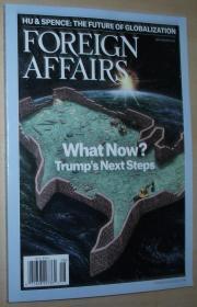 英文原版书 Foreign Affairs Magazine (July-August, 2017) Whats Now? Trumps Next Steps