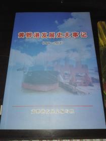 黄骅港发展史大事记【1977--2011】