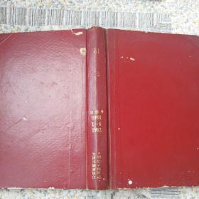 剧坛创刊号1981.1-6.1982签名赠本,品好,自然旧,合订本