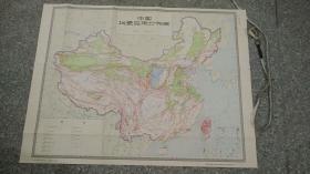 中国地震区带分布图(六百万分之一).