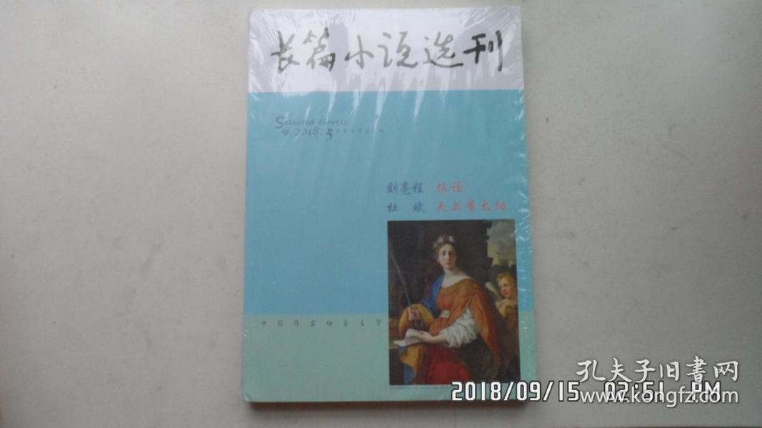 长篇小说选刊2018年第5期(刊载刘亮程长篇小说《捎话》,杜斌长篇小说《天上有太阳》)