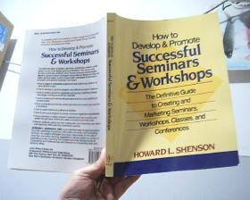 HOW TO DEVELOP AND PROMOTE SUCESSFUL SEMINARS WORKSHOPS