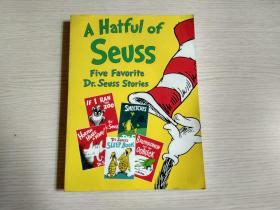 A Hatful of Seuss Five Favorite Dr.Seuss Sotries(英文原版 童话故事连环画 大16开)