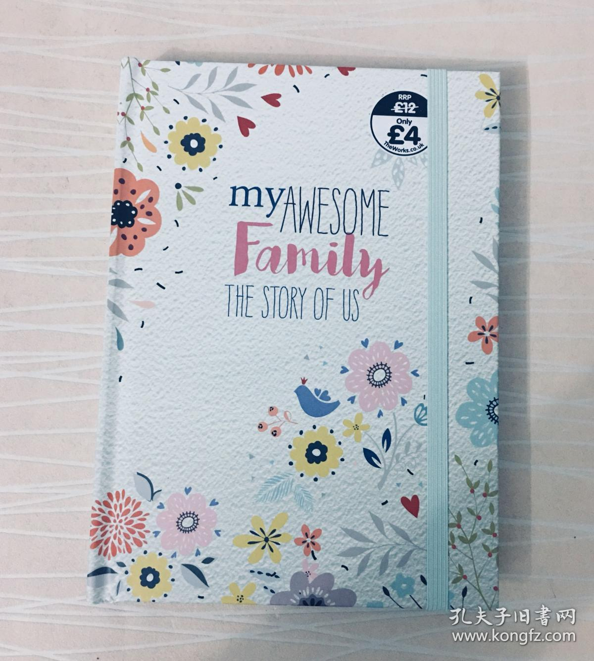 我们一家人 My awesome family The story of us 英文原版