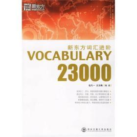 新东方词汇进阶.VOCABULARY 23000——新东方大愚英语学习丛书