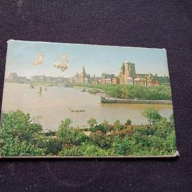 上海  明信片1973年10张全