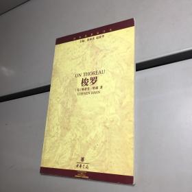 梭罗 (世界思想家译丛)【一版一印 9品 +++ 正版现货 自然旧 实图拍摄 看图下单】