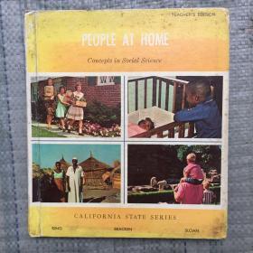PEOPLE AT HOME  外文原版