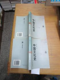 新世纪万有文库:中国文化史一二两册全( 一版一印)