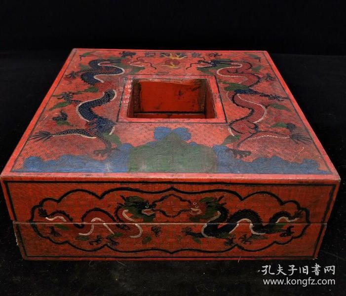 漆器盒,重量925g代理转图可以加价,运费自理。