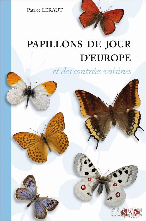 欧洲蝴蝶图鉴 Papillons de jour dEurope et des contrées voisines (French)