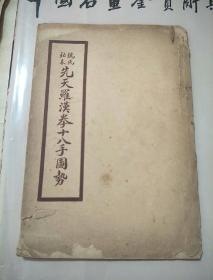 《姚氏 秘本先天罗汉拳十八手图势》民国版