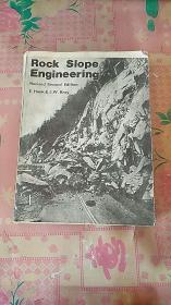 Rock Slope Engineering岩石边坡工程【英文版 修订第2版)