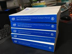 Intel 64 and IA-32 Architectures Software Developers Manual Volume 2A.3A.2B.3B+Intel 64 and IA-32 Architectures Software Reference Manual(五册合售)