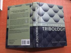 INTRODUCTION TO TRIBOLOGY 英文原版 精装