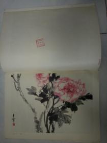 天津美术学院藏书章 带编号 026088 于希宁活页画 11图 8开11页 每张均有 天津美院藏书章及编号  见图