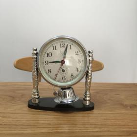 白鸽机械闹钟 九十年代怀旧老闹钟