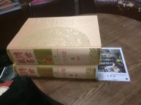 2本合售:传世藏书 史库 二十六史 8 旧唐书 + 9 新唐书  (  【简体字】