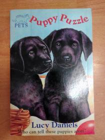 英文原版书:Puppy Puzzle (Animal Ark Pets 1)