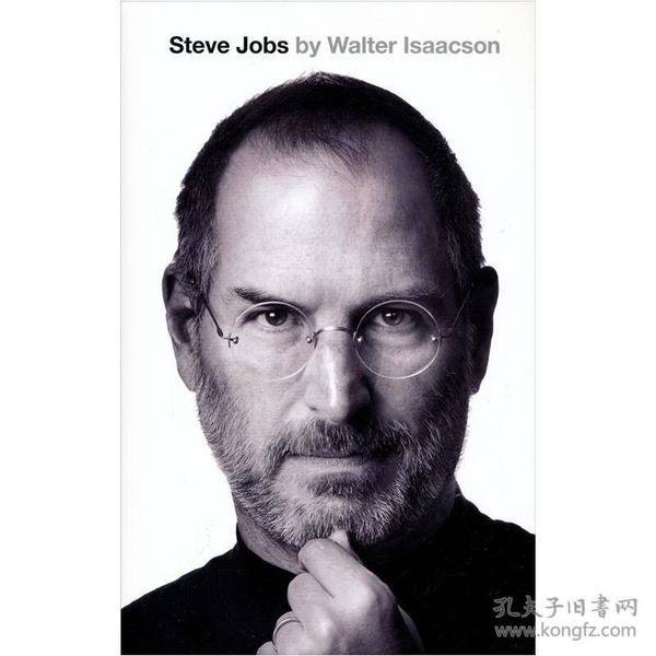 9781408703748进口英文原版 Steve Jobs 史蒂夫•乔布斯传 硬皮精装