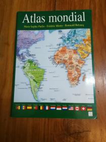 ATLAS MONDIAL 世界地图(法文原版)