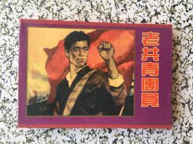 《精品收藏本》老共青团员,一份党中央的决议,党员登记表 品如图 盒装三册一套