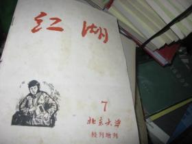 1965年北京大学校刊增刊7  红湖  仅见