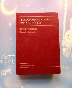 TELECOMMUNICATIONS LAW AND POLICY SECOND EDITION(电信法律与政策第二版)【精装本】