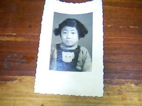 老照片 2寸儿童