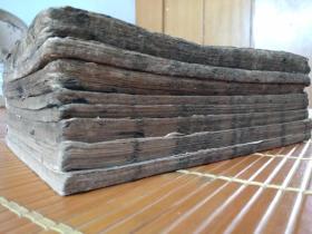 光绪24年常州麟玉山房板木刻大开本《便蒙四书》存7厚册!版本稀见,字稀字大墨浓,制作不惜工本,册数较多,有皇家气派!!!!!!!。。。。。。。。。。。。