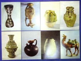 360010173明信片3套30张故宫博物院藏陶瓷选1,2,3套