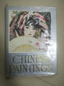 chinese paintings中国画,硬精装,老画册,带原盒。