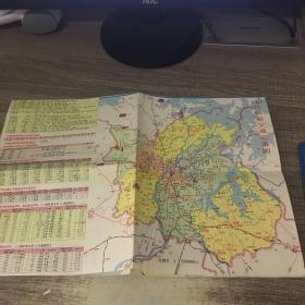 南昌远郊交通旅游图