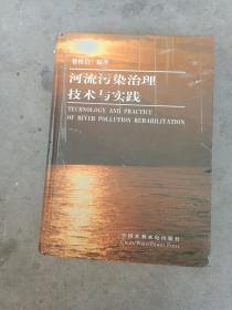 河流污染治理技术与实践 16开精装