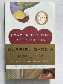 Love in the Time of Cholera   【英文原版,品相佳】